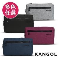 【KANGOL】韓國經典側背休閒包/學生包/情侶包(多色任選 KG1152)