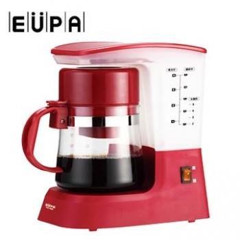 今日下殺 EUPA優柏 多功能茗茶咖啡機-紅色 TSK-1948A