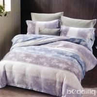 BEDDING-100%天絲萊賽爾-特大6x7薄床包兩用被套四件組-瑪麗-蘭