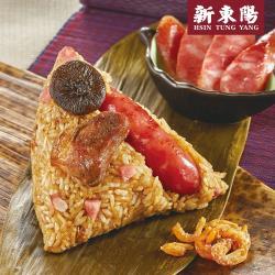 預購-新東陽 黑豬肉香腸粽10入(贈保冷提袋乙個)(06/3~06/6 出貨)