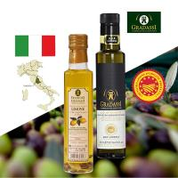 閤大喜-DOP LO STORICO + 檸檬風味 特級冷壓初榨橄欖油 二入組