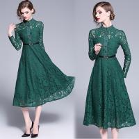 歐風KEITH-Will (預購) 氣質蕾絲立領洋裝