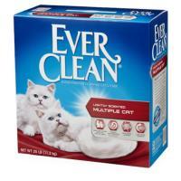 藍鑽EverClean-低過敏強效抗菌結塊(紅標)粗砂(含香)25LB