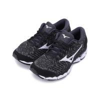 MIZUNO WAVEKNIT S1 綁帶慢跑鞋 黑白 J1GD182507 女鞋