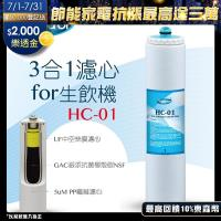 Toppuror 泰浦樂 3合1濾心for Purifier淨水生飲機HC-01