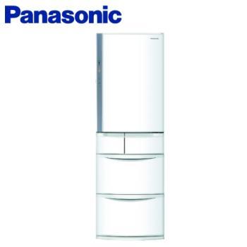 送2,000元商品卡  Panasonic國際牌日本製411公升一級能效變頻五門電冰箱NR-E414VT-W1(庫)