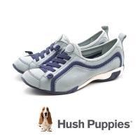 Hush Puppies QUALIFY 彈力休閒鞋 女鞋 -水藍(另有黑、粉紫、灰藍)