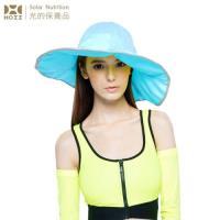 【HOII后益】HOII后益 荷葉邊花瓣帽-大 ★藍光(UPF50+抗UV防曬涼感先進光學機能布)