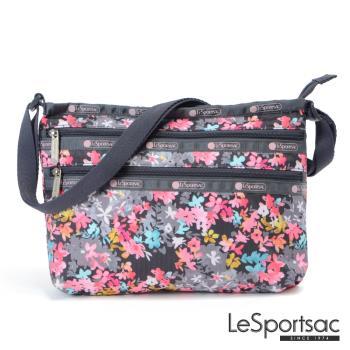 LeSportsac - Standard三層拉鍊斜背包(你好!春天)