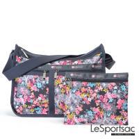 LeSportsac - Standard雙口袋A4大書包-附化妝包 (你好!春天)