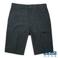 ZENO傑諾 涼感透氣親膚西裝短褲‧深灰條
