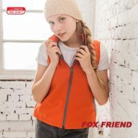 【FOX FRIEND】WINDCOVER 軟殼衣 女彈性防風透氣背心(0614)