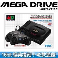 【預購】SEGA 迷你復刻 Mega Drive Mini 主機 (收錄42款經典名作)
