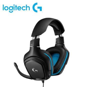 【Logitech 羅技】G431 7.1聲道電競耳機麥克風