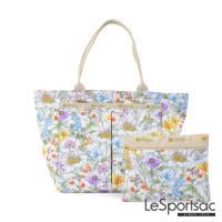LeSportsac - Standard小手提水餃包(盛夏/白)