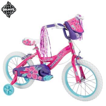 【美國HUFFY】新款女孩16吋自行車Pink(兒童自行車腳踏車輔助輪)