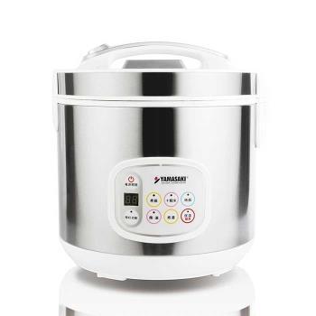 山崎 304#不鏽鋼微電腦多功能電子鍋 SK-1101SR