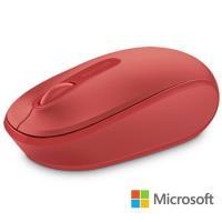 微軟 無線行動滑鼠 1850 - 火焰紅 盒裝