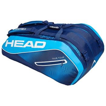 HEAD Tour Team 12R MONSTERCOMBI 12支裝網球拍/羽球拍/壁球拍袋-海軍藍283109