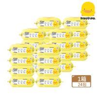 黃色小鴨 PiyoPiyo 超厚純水嬰兒柔濕巾80抽x24包