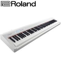 Roland 樂蘭  公司貨保固 FP-30 數位電鋼琴 白色88鍵 單機內附琴譜架(不含腳架組)