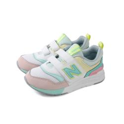 New Balance 997H系列 運動鞋 魔鬼氈 白/綠 中童 童鞋 PZ997HCL-W no577