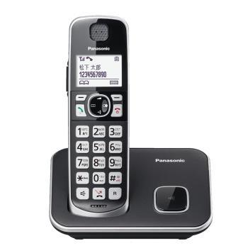 【買就贈史努比大湯杯】Panasonic 國際牌 DECT 中文數位大字鍵無線電話 KX-TGE610 TWB