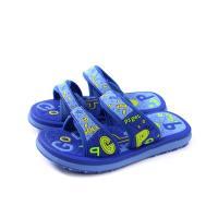 GP(Gold.Pigon) 拖鞋 防水 雨天 藍色 中童 童鞋 G9012B-20 no989