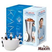 MAXIM麥心 韓國KANU孔劉咖啡美式中焙咖啡100入 附保冷杯(夏季限定版)