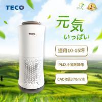 TECO東元 10-15坪 360°零死角智能空氣清淨機 NN4002BD