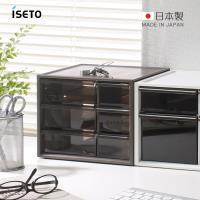 nicegoods 日本ISETO 桌上分類抽屜收納盒-S