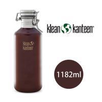 美國Klean Kanteen  快扣啤酒窄口不鏽鋼瓶-1182ml