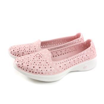 SKECHERS H2GO 懶人鞋 洞洞鞋 女鞋 粉紅色 小碎花 14697PKW no974