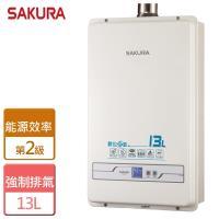 櫻花13L 數位恆溫熱水器SH-1335