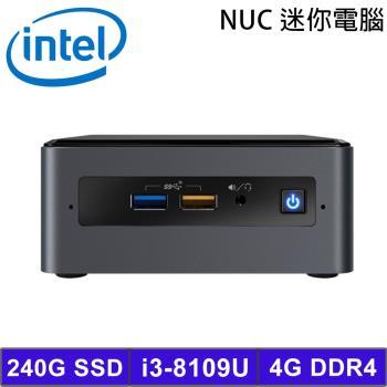 Intel NUC 迷你準系統電腦 (BOXNUC8i3BEH1) i3-8109U