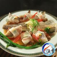 漁季水產  阿拉斯加野生明太鱈(鱈魚/狹鱈)魚片(300g/包)(2片/包) 共1包