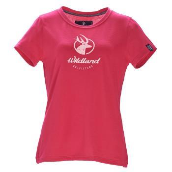 【Wildland 荒野】女彈性印花經典抗UV上衣共3色