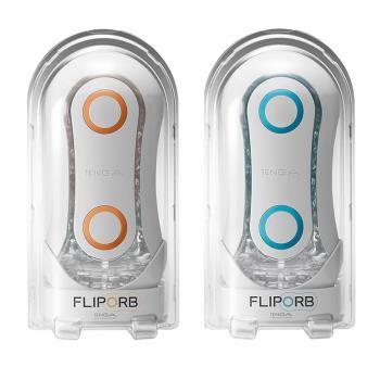 正品公司貨 日本TENGA FLIP ORB TFO-001 動感球體重複使用型飛機杯 (極限藍)