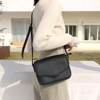 Acorn*橡果-韓系復古學院少女小方包斜背包6614(黑色)