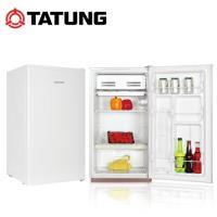 TATUNG 大同108L 二級能效單門冰箱 TR-108M-W