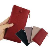 【玩皮工坊】真皮牛皮可裝5.5吋手機皮夾皮包手機包手拿包女夾LH489