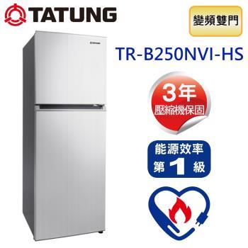 TATUNG大同 250公升變頻雙門冰箱 TR-B250NVI-HS