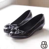 【88%】蝴蝶結圓頭平底包鞋 OL上班穿搭必備 甜美 娃娃鞋 懶人鞋 ◆MIT台灣製