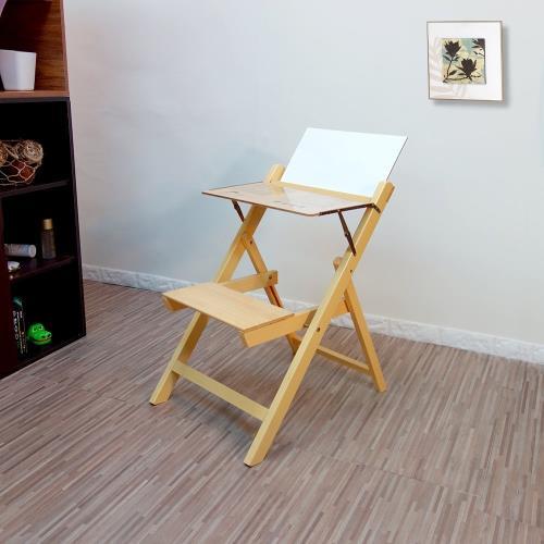 實木折合書桌椅#免組裝桌椅#傳統桌椅#好傢俱/
