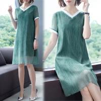 韓國K.W. (預購) 輕柔夏日氛圍短袖洋裝