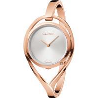 Calvin Klein CK Light 輕時尚手鐲女錶-玫瑰金/S號 K6L2S616