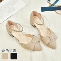 Alice (預購) 輕柔自在素雅美型粗跟鞋