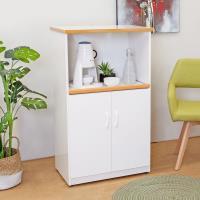 Boden-2.2尺二門一拉盤防水塑鋼電器櫃/收納餐櫃(白色)