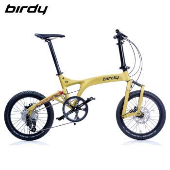 New Birdy(Ⅲ) GT多地形越野10速前後避震鋁合金折疊單車-消光沙漠黃