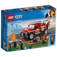 LEGO樂高積木 - City 城市系列 60231 消防隊長救援卡車